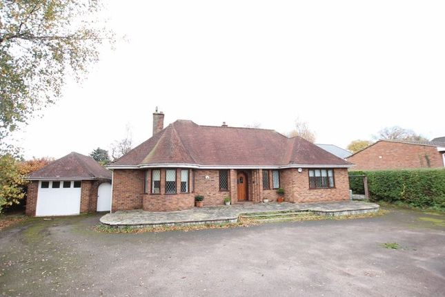 Thumbnail Detached bungalow for sale in Telegraph Road, Heswall, Wirral