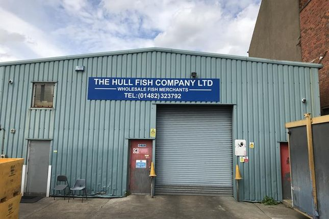 Thumbnail Light industrial for sale in West Dock Street, Hull
