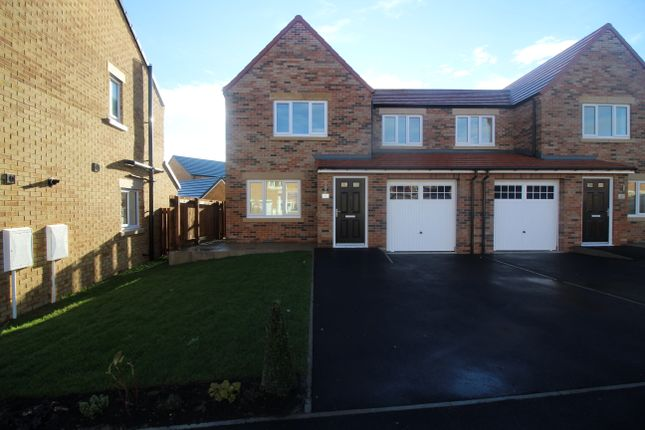 Thumbnail Semi-detached house to rent in Chilton Close, Newton Aycliffe