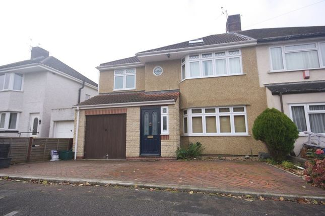 Thumbnail Semi-detached house to rent in Begbrook Lane, Frenchay, Bristol