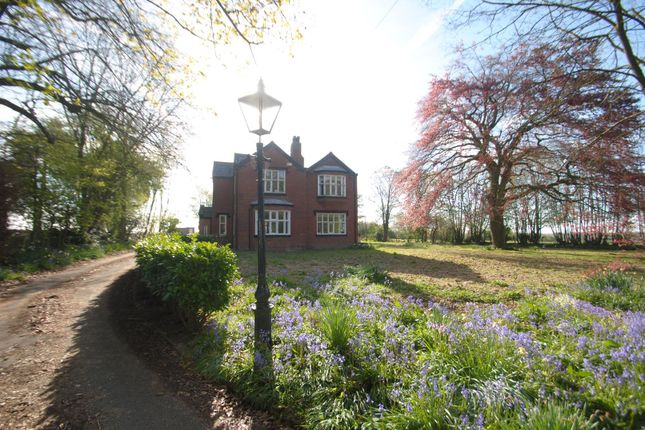 Thumbnail Detached house for sale in The Old Rectory, Lady Lane, Croft, Warrington