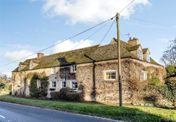 Thumbnail Detached house for sale in Stamford Road, Pilsgate, Stamford