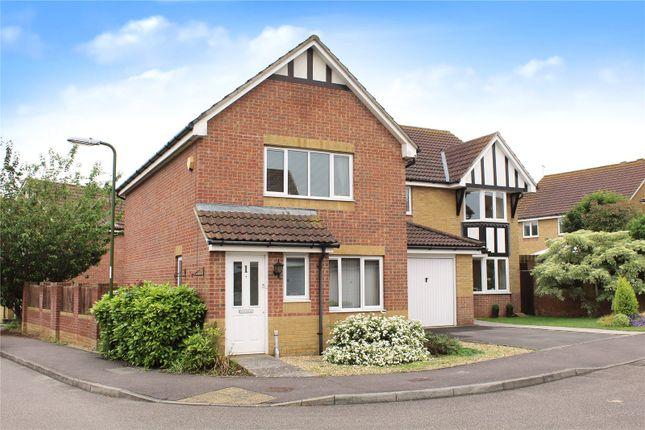 Thumbnail Detached house for sale in Linnet Close, Wick, Littlehampton