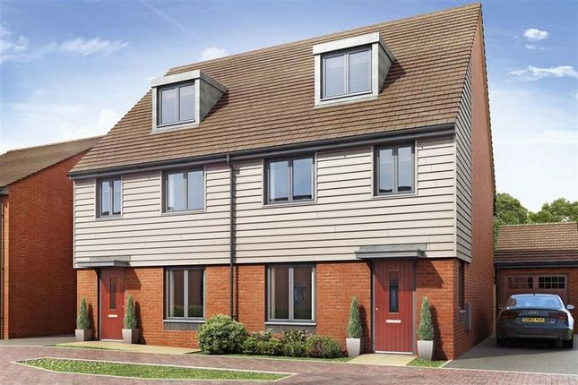 Thumbnail Town house for sale in 91, Synders Way, Lawley, Telford