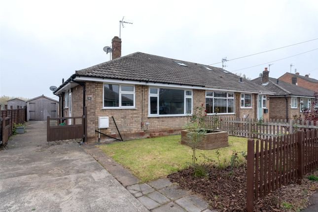 Thumbnail Semi-detached bungalow to rent in Tilmire Close, Fulford, York