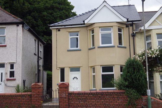 Thumbnail Semi-detached house to rent in Herbert Avenue, Risca, Newport.