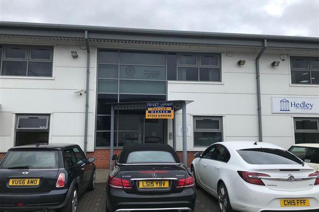 Thumbnail Office to let in Unit 20, Trident Park, Blackburn