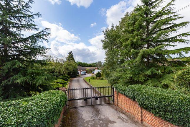 Thumbnail Bungalow for sale in Stapleford Road, Stapleford Abbotts, Romford