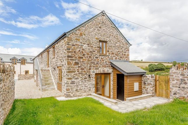 Thumbnail Semi-detached house for sale in Chillaton, Lifton