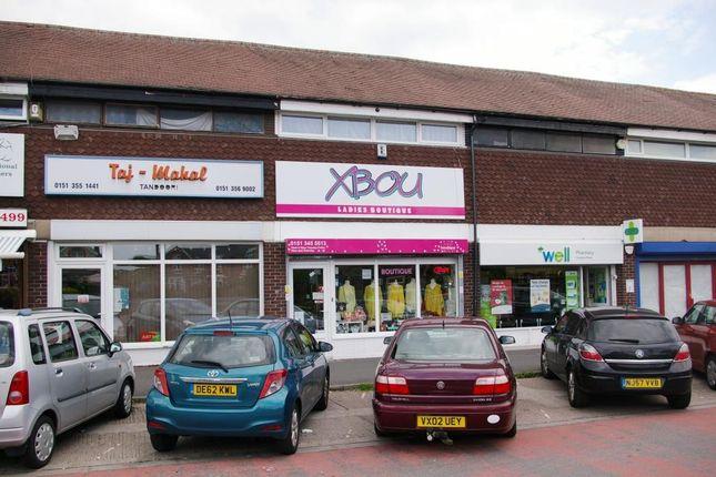 Thumbnail Retail premises for sale in Overpool Road, Ellesmere Port