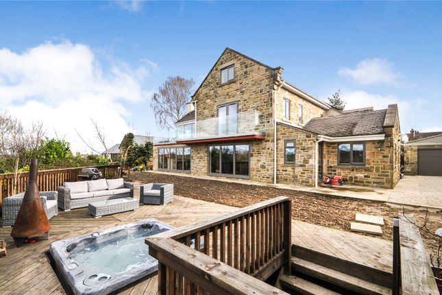 Thumbnail Detached house for sale in Peeps, Harewood Road, Collingham, Wetherby, West Yorkshire
