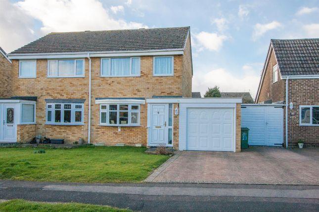 Thumbnail Semi-detached house for sale in Laburnum Drive, Green Park, Royal Wootton Bassett