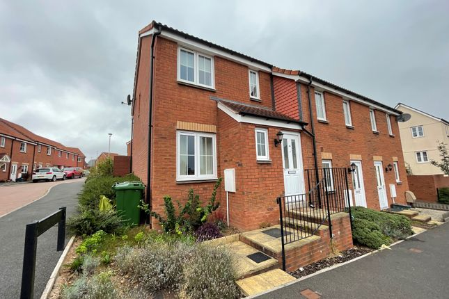 Thumbnail Terraced house to rent in Brooks Warren, Cranbrook, Exeter