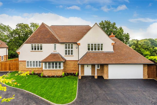 Thumbnail Detached house for sale in Wraylands Drive, Reigate, Surrey