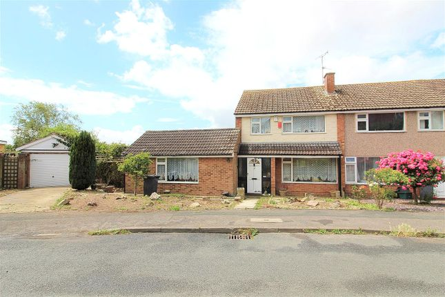 Thumbnail Semi-detached house for sale in Cedarwood Drive, Tuffley, Gloucester, Gloucestershire