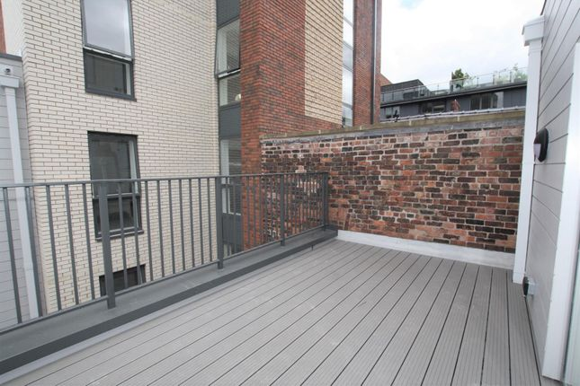 Decking of Cotton Square, 21 Blossom Street, Manchester M4