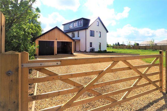 Thumbnail Detached house for sale in Mill Road, Fen Drayton, Cambridge, Cambridgeshire