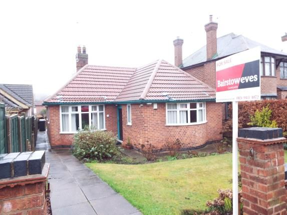 Thumbnail Bungalow for sale in Hillside Road, Beeston, Nottingham