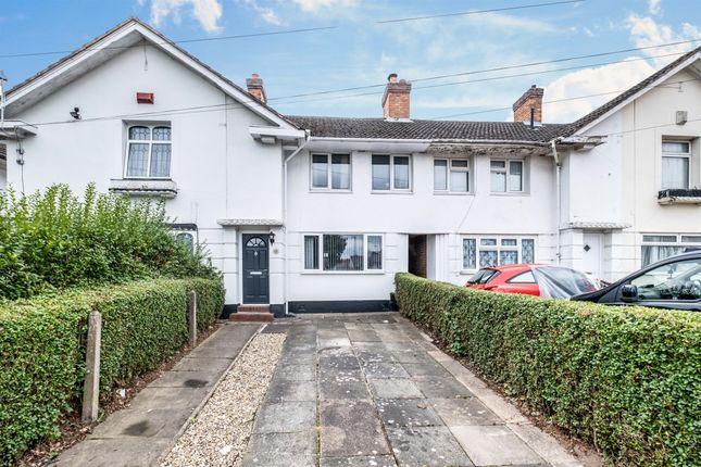 2 bed terraced house for sale in Wellfield Road, Birmingham B28