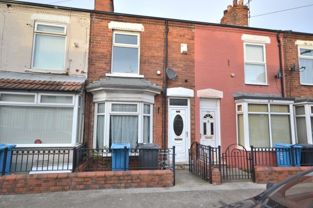 2 bed terraced house to rent in Belmont Street, Hull HU9