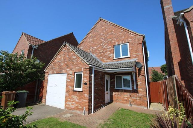 Thumbnail Detached house to rent in Orchard Close, Great Hale