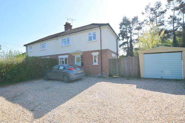 Thumbnail Semi-detached house for sale in Council Houses, Reading Road, Mattingley, Hook, Hampshire