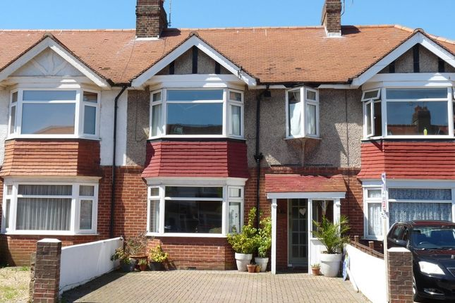 Thumbnail Terraced house to rent in Normandy Road, Broadwater, Worthing