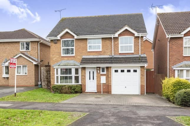 Thumbnail Detached house for sale in Broad Leys Road, Barnwood, Gloucester, Gloucestershire
