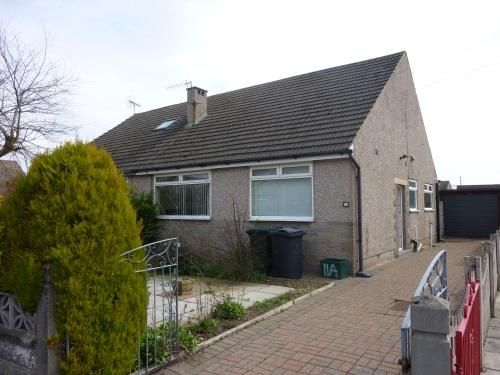 Thumbnail Semi-detached bungalow to rent in Foxfield Avenue, Morecambe
