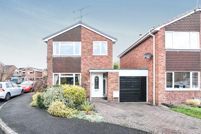 Thumbnail Detached house for sale in Hazel Close, Droitwich