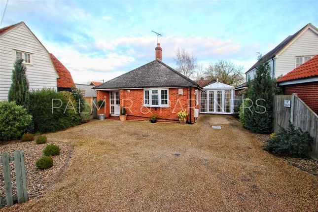 Thumbnail Bungalow for sale in The Gables, The Heath, Dedham, Colchester