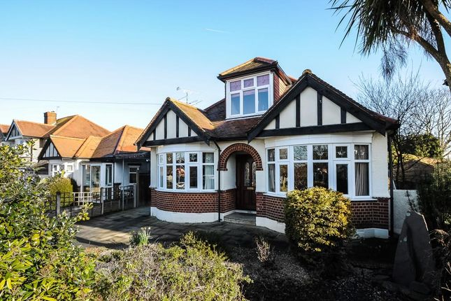 Thumbnail Detached bungalow to rent in Grand Avenue, Surbiton