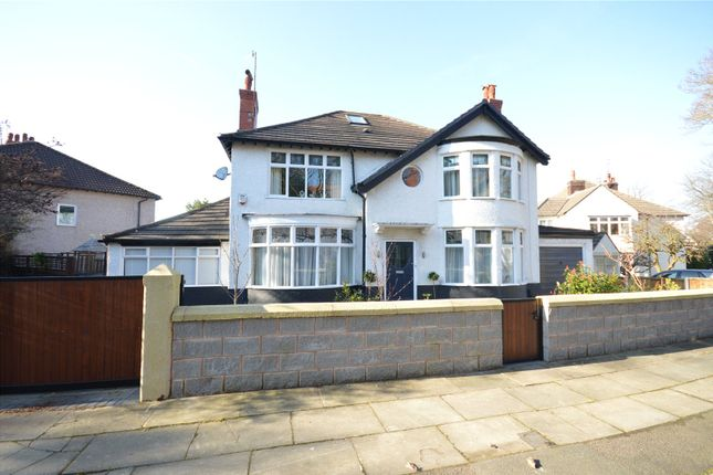 Thumbnail Detached house for sale in Garth Drive, Calderstones, Liverpool