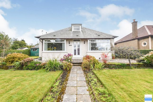 Thumbnail Detached bungalow for sale in Gallowhill Road, Lenzie, Glasgow