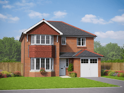 Thumbnail Detached house for sale in The Dolwen, Plot 27, Middlewich Road, Sandbach, Cheshire
