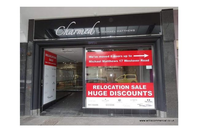Thumbnail Retail premises to let in Westover Road 5, Bournemouth