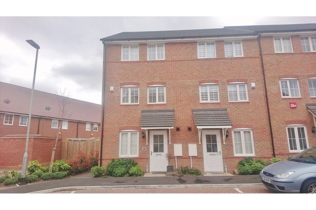Thumbnail End terrace house to rent in Malt Kiln Place, Dartford
