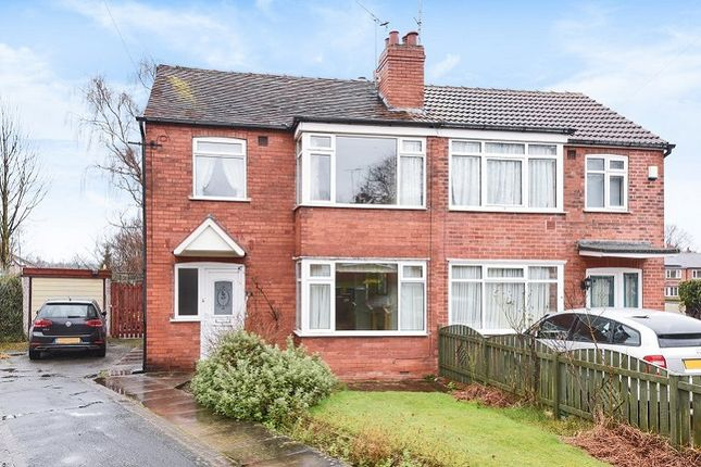 Thumbnail Semi-detached house for sale in Carrholm Crescent, Leeds
