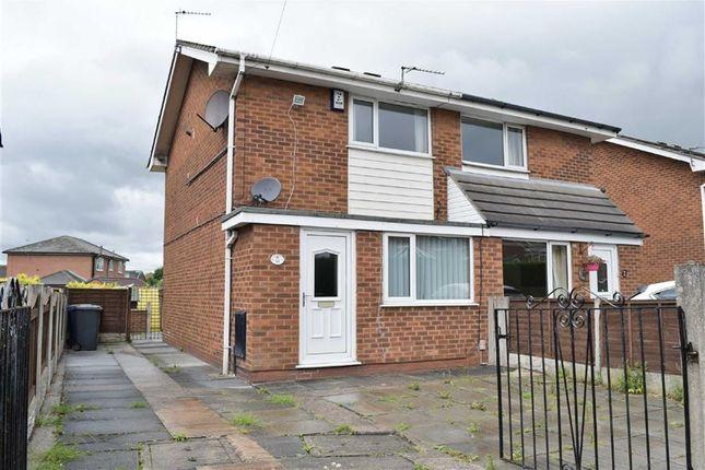 Thumbnail Semi-detached house to rent in Ashwood Avenue, Abram, Wigan