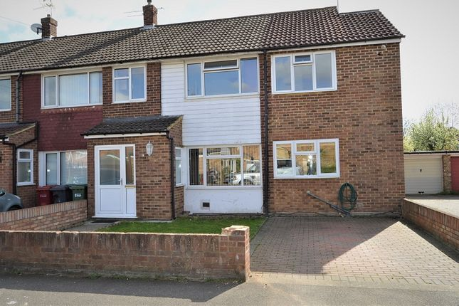 Thumbnail End terrace house to rent in Cherry Avenue, Slough, Berkshire.