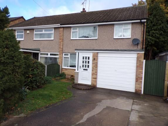 Thumbnail Semi-detached house for sale in Rowan Drive, Silverdale, Nottingham, Nottinghamshire