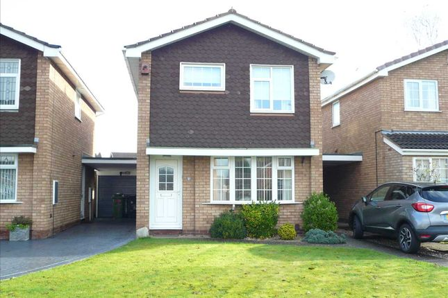 Thumbnail Detached house for sale in Westering Parkway, Wolverhampton, Wolverhampton