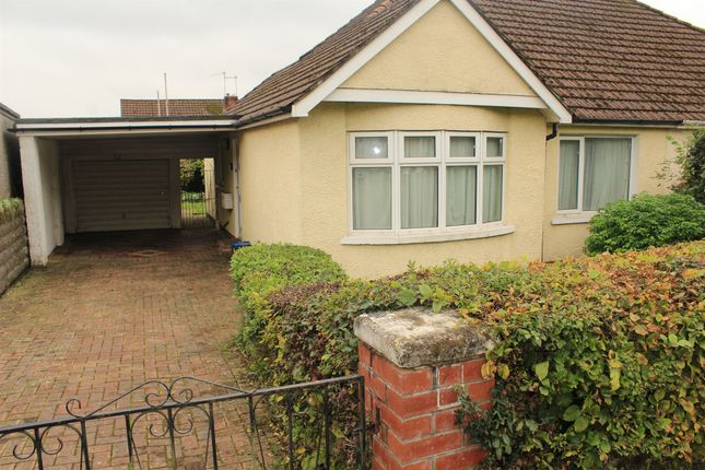 Thumbnail Semi-detached bungalow for sale in Coed-Yr-Ynn, Cardiff