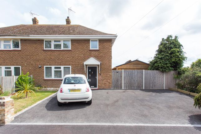 Semi-detached house for sale in Cornford Road, Birchington