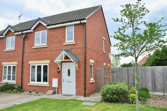 Thumbnail Semi-detached house for sale in Holly Close, Bretforton, Evesham