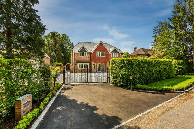Thumbnail Detached house for sale in Boughton Hall Avenue, Send, Woking