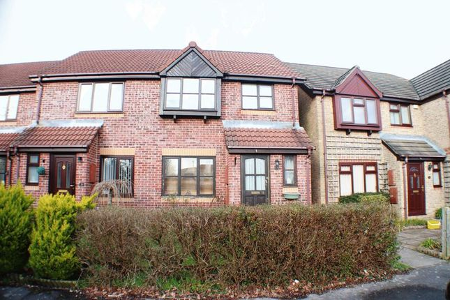Thumbnail End terrace house for sale in Coracle Close, Warsash, Southampton