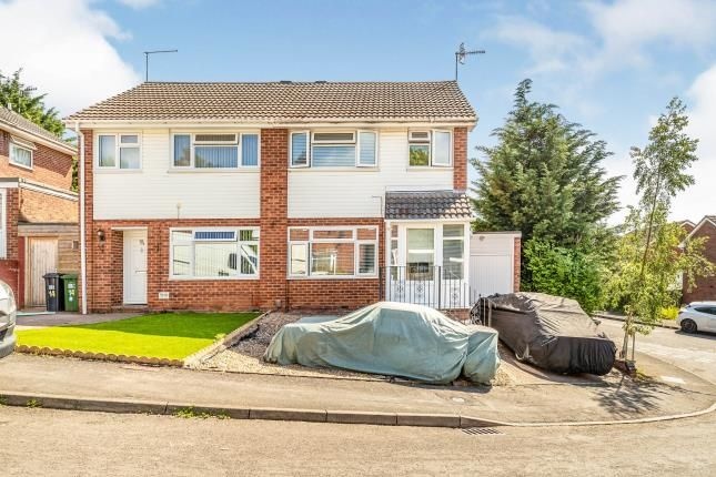 Thumbnail Semi-detached house for sale in Hicks Close, Woodloes Park, Warwick, Warwickshire
