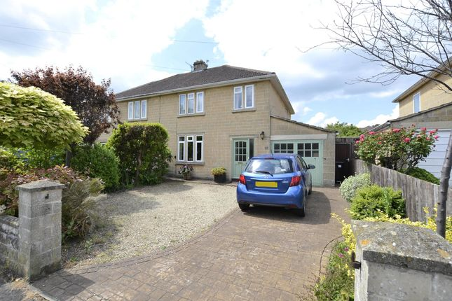 Thumbnail Semi-detached house for sale in Cedric Road, Bath