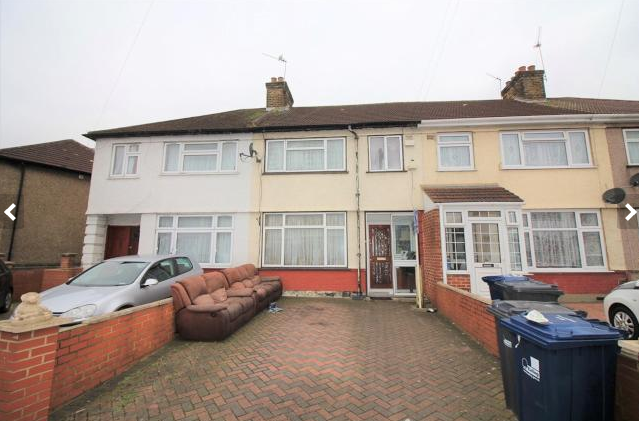 Thumbnail Terraced house to rent in Kingsbridge Crescent, Southall
